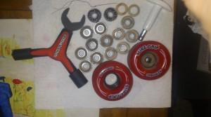 Pulling bearings